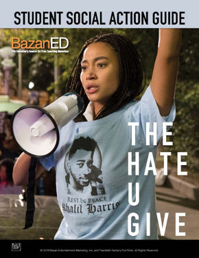 Picture of  THE HATE U GIVE - Student Social Action Guide
