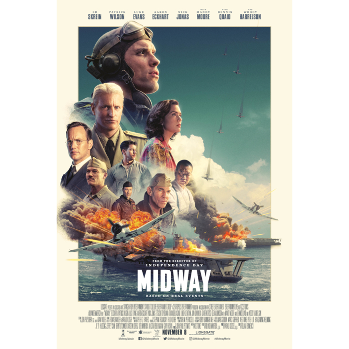 MIDWAY OFFICIAL MOVIE POSTER