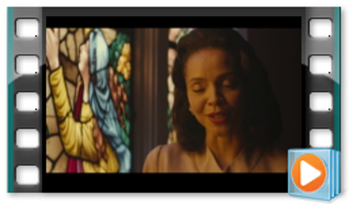 Picture of SELMA Lesson Prompt - We Shall Overcome - Malcolm X meets with Coretta Scott King