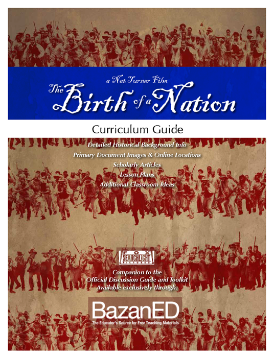 Picture of The Birth of a Nation Curriculum Guide