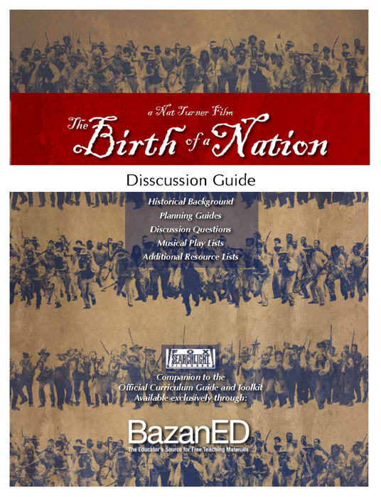 Picture of The Birth of a Nation Discussion Guide