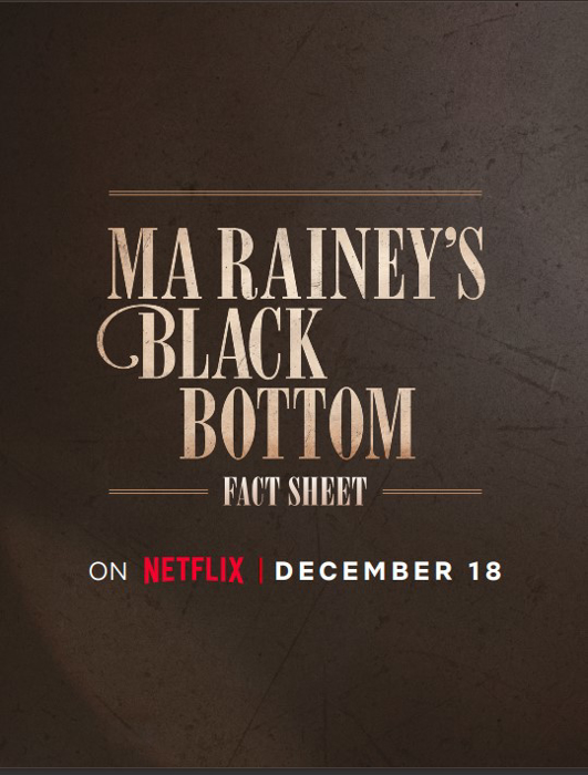 Ma Rainey's Black Bottom Fact Sheet Cover Image