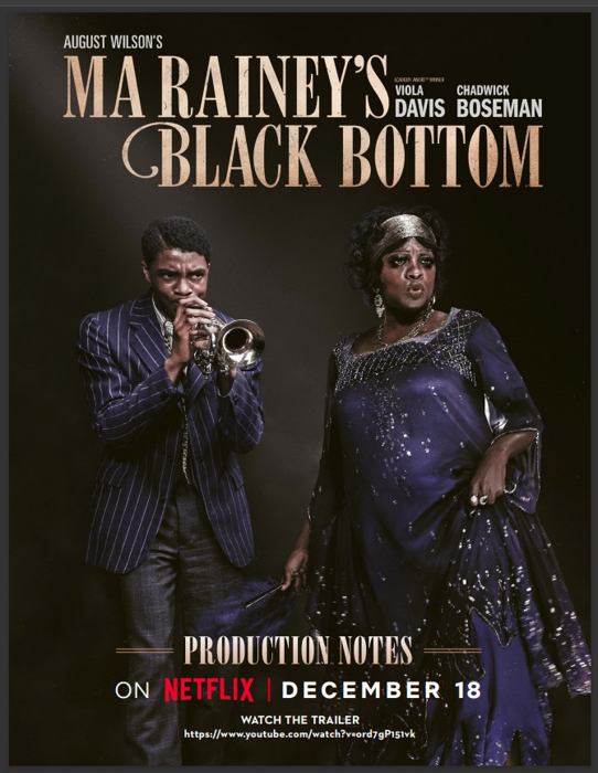 Ma Rainey's Black Bottom Film Background