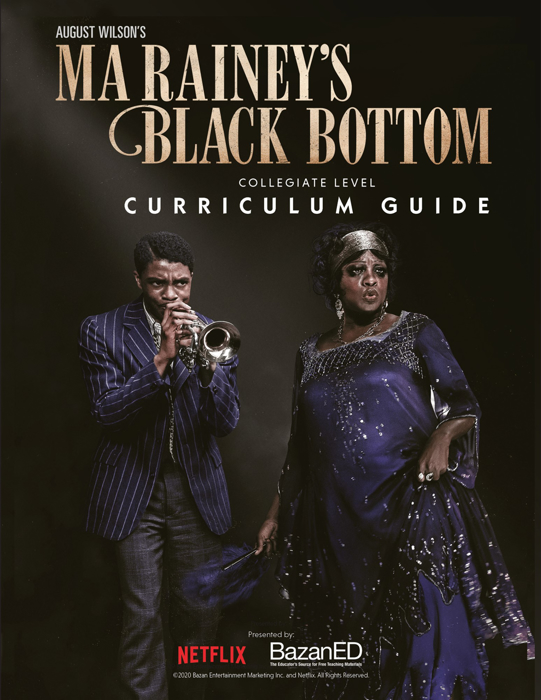 Ma Rainey's Black Bottom Curriculum Guide